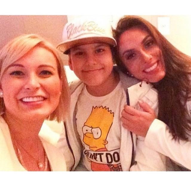 Andressa Urach com o filho e Nicole Bahls (Foto: Reprodução/ Instagram)