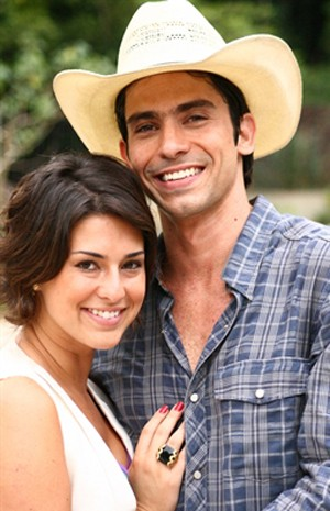 Lucci contracenou com Fernanda Paes Leme em 'Paraíso' (Foto: TV Globo / Davi de Almeida)