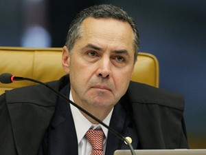 O ministro Luís Roberto Barroso, relator do processo do mensalão mineiro no STF (Foto: Fellipe Sampaio /SCO/STF)