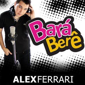 A capa do single 'Bará berê', de Alex Ferrari, no iTunes (Foto: Reprodução)