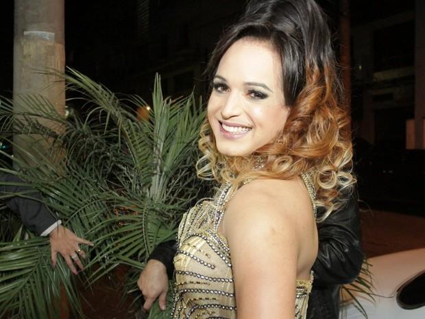Lisa Crazy comemora aniversário em São Paulo (Foto: Paduardo/ Ag. News)