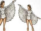 Vestida de anjo, Claudia Leitte canta no carnaval de salvador