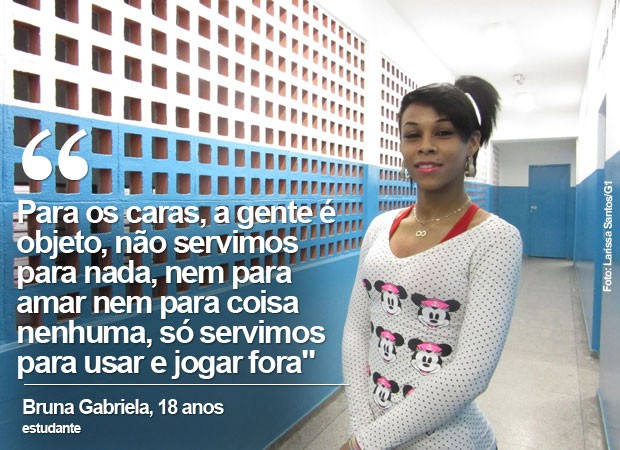 Bruna Gabriela (Foto: Larissa Santos/G1)