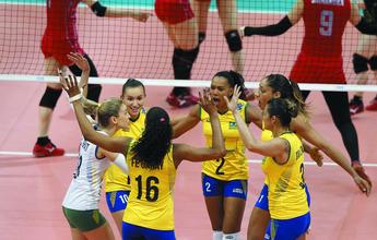 Brasil busca segunda vitória no Grand Prix diante de jovem e renovada Sérvia