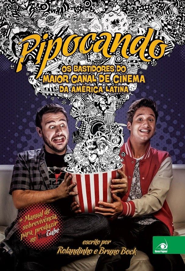 """Livro """"Pipocando, os bastidores do maior canal de cinema da América Latina"""". Preço: R$ 23,00 (Foto: Divulgação)"""