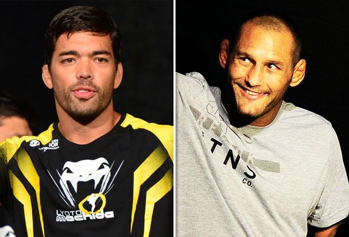 Montagem UFC Machida x Dan Anderson  (Foto: Getty )