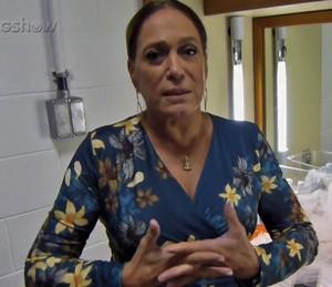 Susana Vieira dá dicas para a mulherada (Foto: TV Globo)