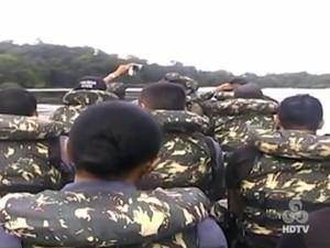 Operação Curare iniciou na terça-feira (24) e segue em outubro (Foto: Reprodução/TV Amapá)