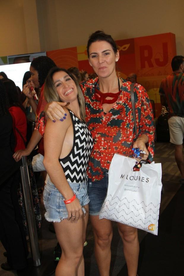 Glenda Kozlowski e Daniele Hypolito (Foto: Cleomir Tavares -Hotel  Prodigy Santos Dumont)