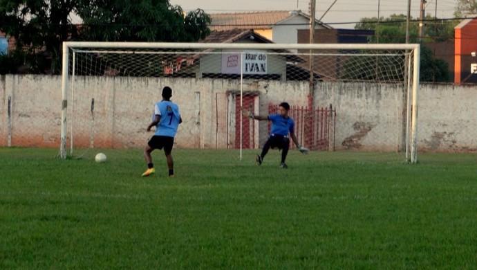 Guaraí faz treinos de finalizações para a próxima partida (Foto: Divulgação/TV Lobão)