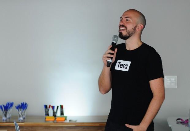 Leandro Herrera, da Tera, durante o Festival de Cultura Empreendedora (Foto: Rafael Jota/Editora Globo)