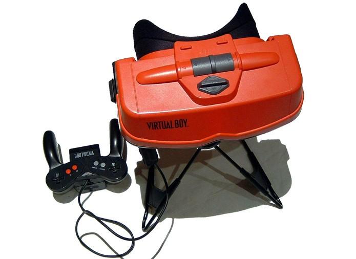 Nem mesmo o conceito de portátil, a Nintendo acertou com o Virtual Boy (Foto: Reprodução / Wikipédia)