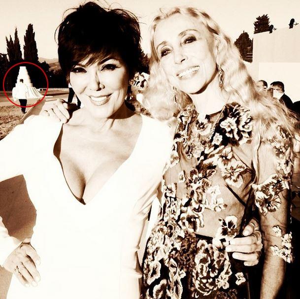 Kris Jenner e Franca Sozzani, editora da Vogue Itália (Foto: Instagram/Reprodução)