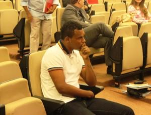 Bida, no julgamento do STJD (Foto: Fernando Vasconelos / Globoesporte.com)