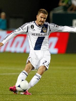 David Beckham Los Angeles Galaxy (Foto: AFP)