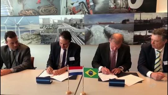 Ceará assina memorando com Porto de Roterdã para atrair investimentos