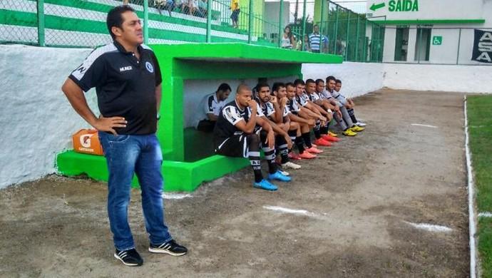 Maurílio Silva, técnico do ASA (Foto: Divulgação/ASA)