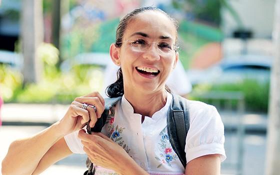 Rede, de Marina Silva, sonha em ter Heloísa Helena no Rio de Janeiro para as eleições de 2018 (Foto: Luiz Roberto Lima/Futura Press)