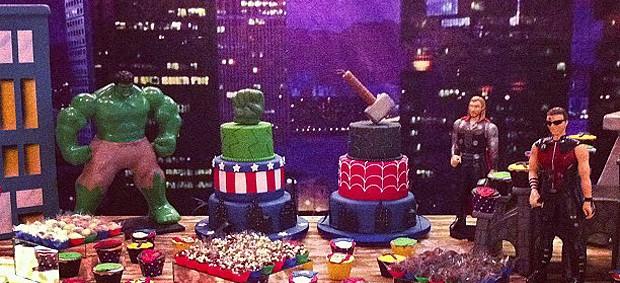 Rafael Sobis festa de aniversário filhos família Boleirama (Foto: Reprodução / Instagram)