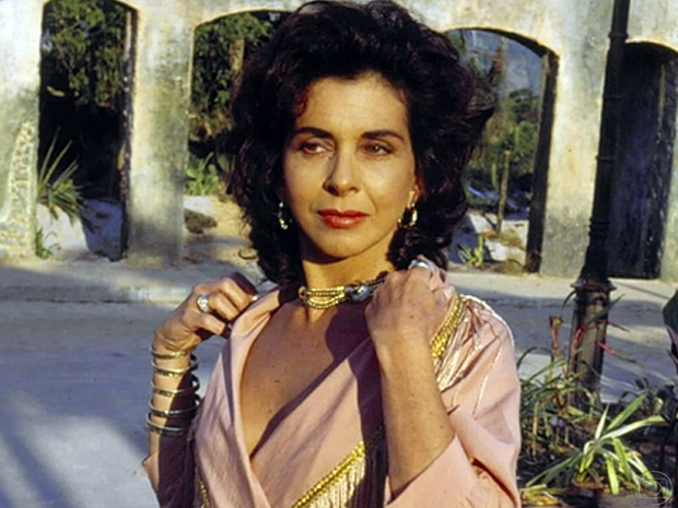 Betty Faria (Tieta) (Foto: TV Globo)