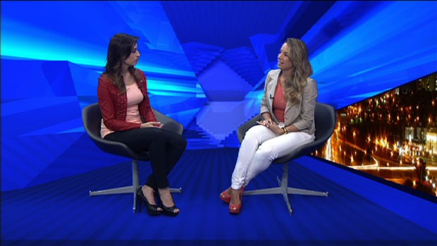 A dentista Fernanda Cardoso dá as dicas para manter o hálito em dia. (Foto: Reprodução/TV Vanguarda)
