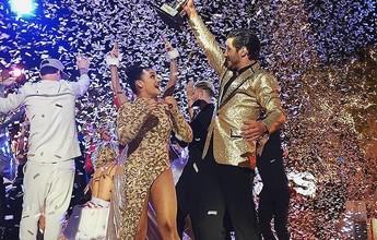 """Campeã olímpica, ginasta vence a """"Dança dos Famosos"""" americana"""