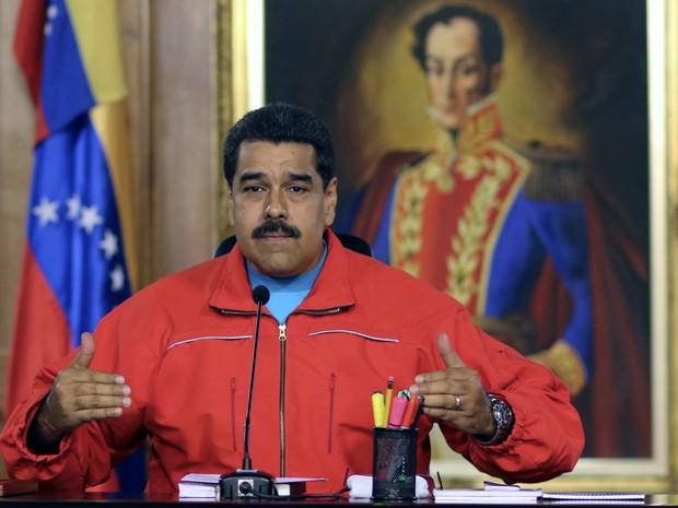 Presidente da Venezuela, Nicolas Maduro, reconhece vitória da oposição (Foto: AFP Photo)