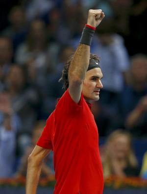 tenis roger federer basileia (Foto: Reuters)