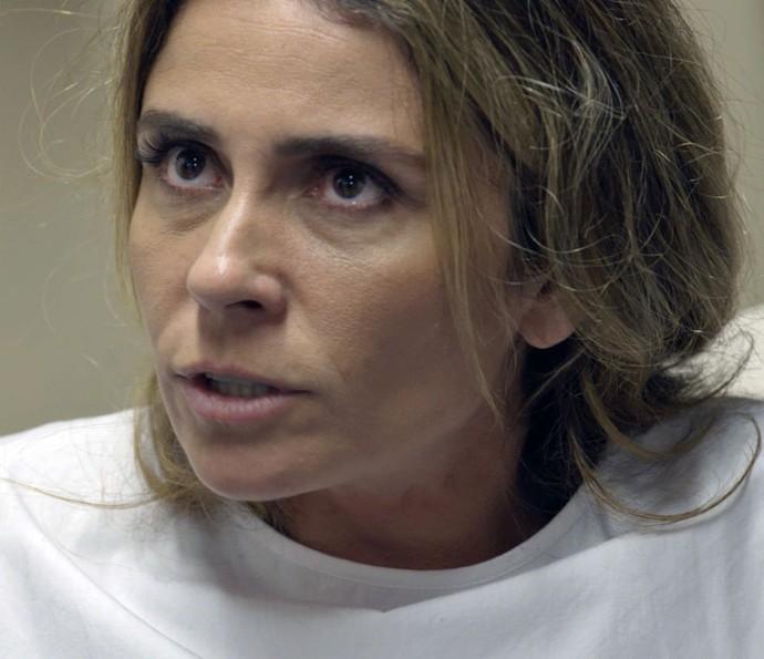 Atena decide entregar Romero para a polícia (Foto: TV Globo)