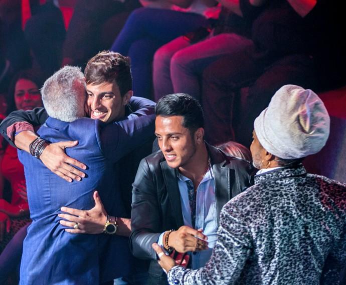 Danilo Reis e Rafael marcam presença no primeiro dia do The Voice Brasil (Foto: Isabella Pinheiro/ Gshow)