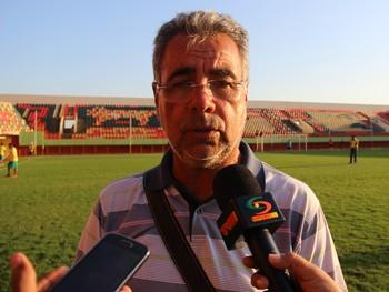 Illimani Suares, presidente do Rio Branco (Foto: João Paulo Maia)