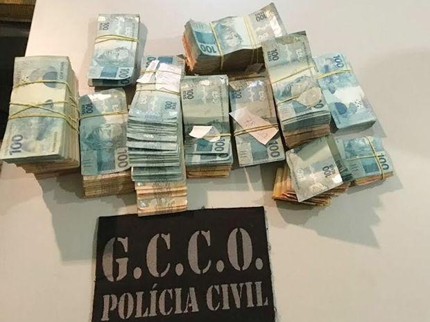 Empresário foragido há 20 anos por morte no RJ é preso com R$ 148 mil em Cuiabá (Foto: Assessoria/Polícia Civil de MT)