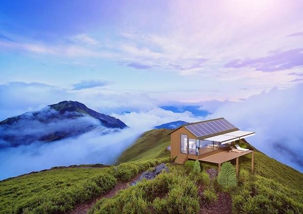A unidade tem sistemas sustentáveis para captação de energia e água (Foto: Divulgação)