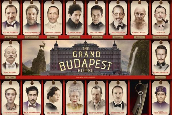 Elenco principal de O Grande Hotel Budapeste (2013) (Foto: Divulgação)