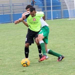 Princesa treino com o Manaus FC (Foto: Gabriel Mansur)