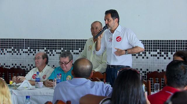 Agnelo Queiroz visita o Gama, Santa Maria e Ceilândia