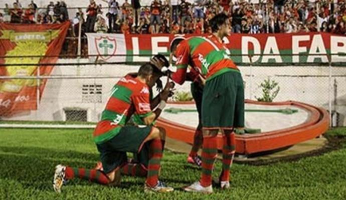Portuguesa vence Independente pela Série A2 (Foto: Dorival Rosa / Portuguesa)