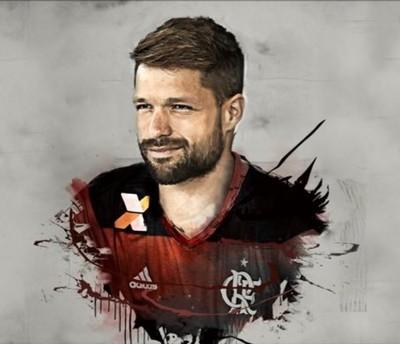 Diego Flamengo Twitter (Foto: Reprodução/Twitter)