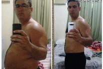 Pai perde 27kg com muay thai a pedido da filha de cinco anos (Imagem/Divulgação)