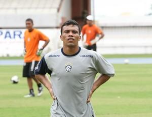 Marcelo Maciel em treino no Remo (Foto: Igor Mota)