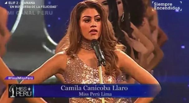 Candidatas a Miss Peru 2018 (Foto: Divulgação)