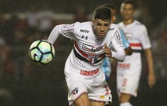 """Após ascensão rápida, Marcinho quer mais: """"Que o São Paulo me compre"""""""