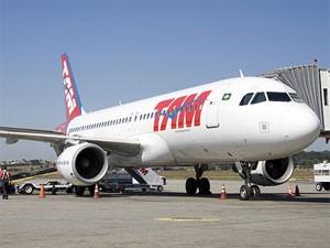 Avião da Tam (Foto: Divulgação/Tam)