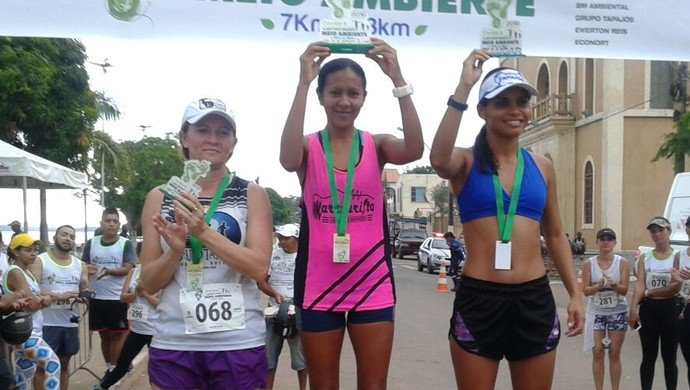 Risonete venceu corrida do Meio Ambiente, domingo (5), em Itaituba (Foto: Helton Bastos/Arquivo pessoal)