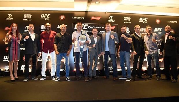 UFC 198 (Foto: André Durão/ Reprodução Globoesporte.com)