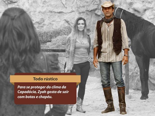 Estilo Zyah (Foto: Salve Jorge/TV Globo)