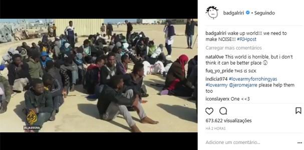 Famosos se manifestam contra casos de escravidão humana (Foto: Reprodução)