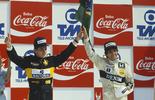 Há 30 anos, Piquet e Senna erguiam juntos a bandeira do Brasil no pódio (Divulgação/Williams)