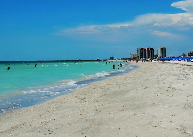 Praia para crianças na Flórida (Foto: Divulgação)