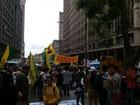 Estudantes fazem caminhada em Porto Alegre e pedem eleições gerais